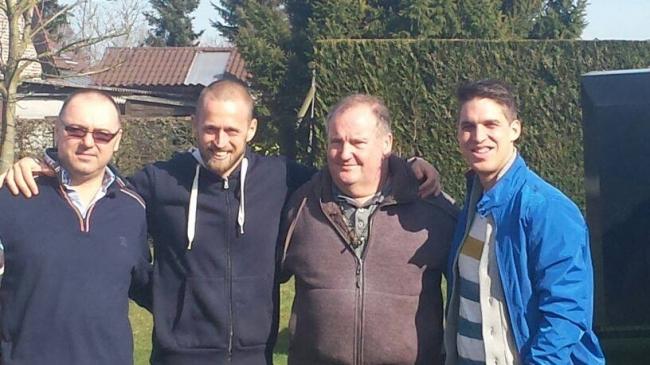 Florea Sorin , Dinu Mihai , Dirk Van Dick si Thomas Gyselbrecht