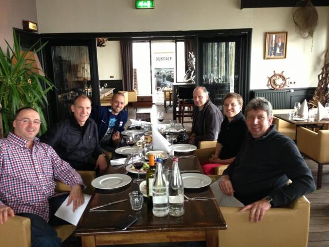 Florea Sorin , Jan Hooymans , Dinu Mihai , Freddy Vandenheede , Nikolaas Gyselbrecht si Vincent van de Kerk