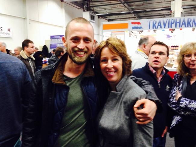 Impreuna cu Chantal Vredeveld (Houten)