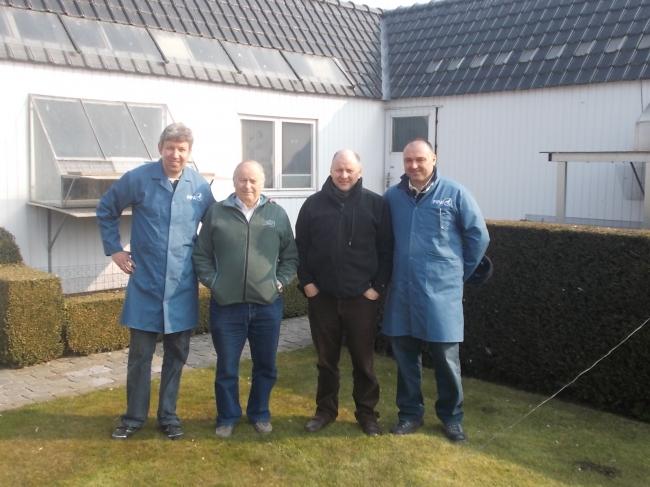 Vincent van de Kerk , Jaques Vandenheede , Freddy Vandenheede si Florea Sorin