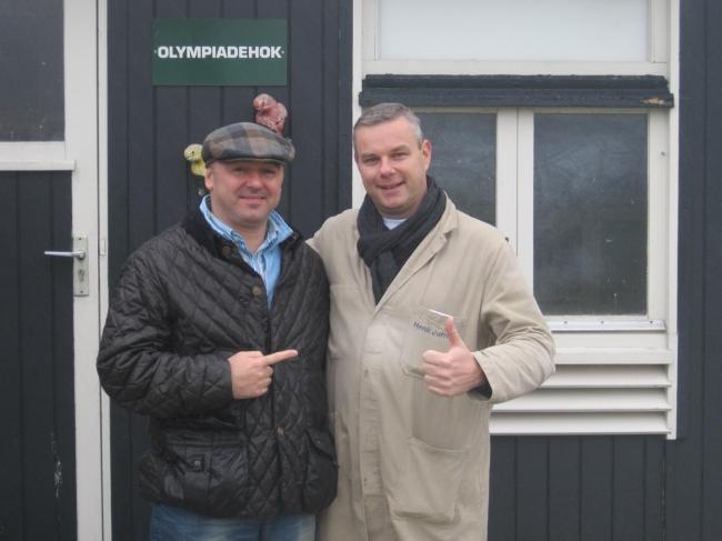 Impreuna cu Henk Jurriens , general managerul Familiei Eijerkamp