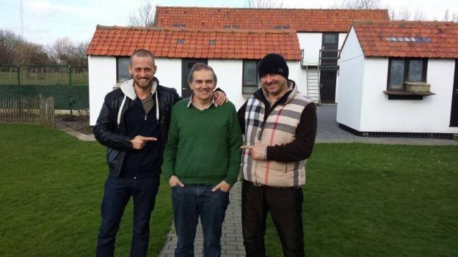 Dinu Mihai , Gaby Vandenabeele si Florea Sorin