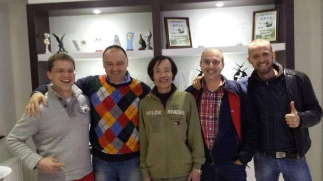 Nikolaas Gyselbrecht , Florea Sorin , Yong Lin , Hugo Batenburg si Dinu Mihai