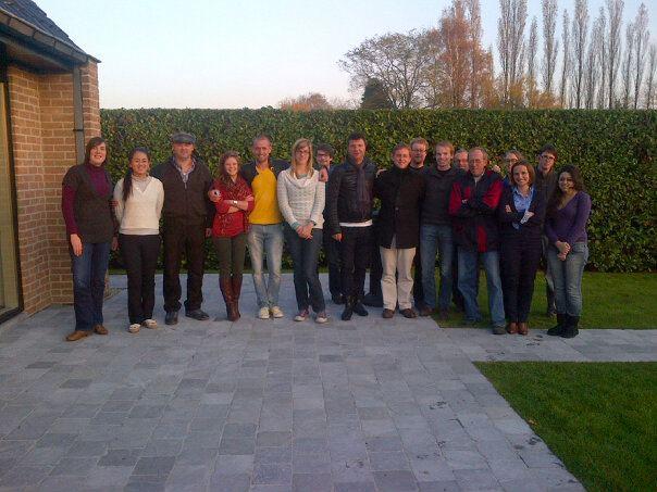 Impreuna cu intreaga echipa PIPA – noiembrie 2012