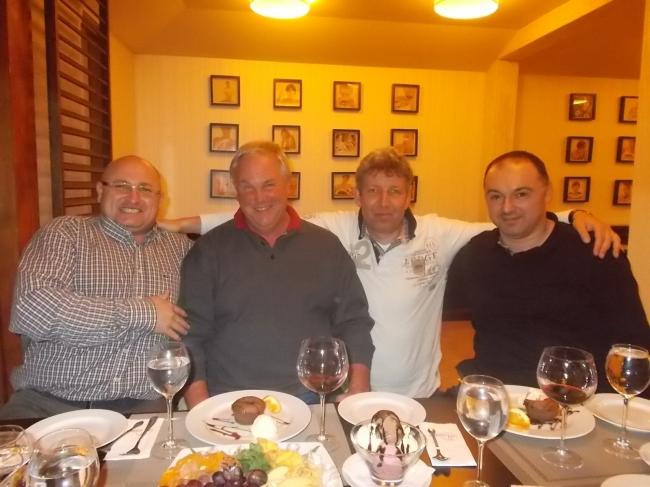 Gyany Antonescu , Klaus Stieneker , Vincent van den Kerk si Florea Sorin