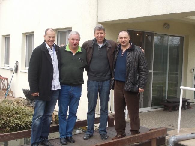 Jan Hooymans , Klaus Stieneker , Vincent van den Kerk si Florea Sorin