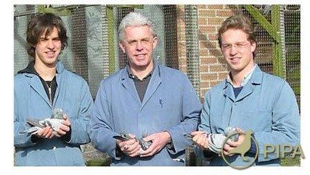 Fondatorii PIPA : Thomas , Dr.Carlo si Nikolaas Gyselbrecht