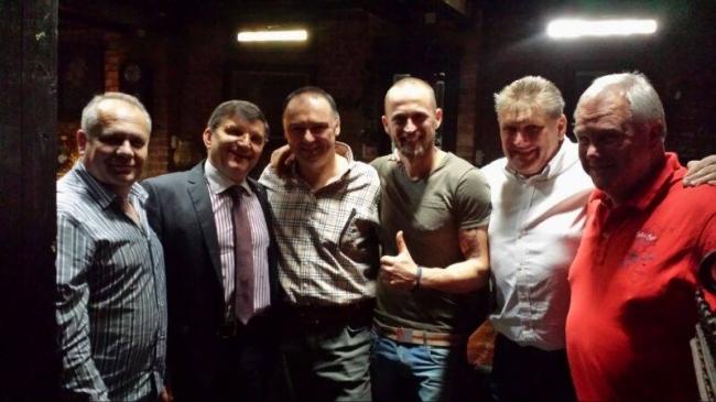 Cocos Petrica , Marcel Nicolaescu , Florea Sorin , Alfons Klaas and Klaus Stieneker