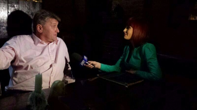 Alfons Klaas a acordat un scurt interviu postului Pro Tv