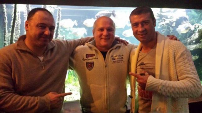 Florea Sorin , Andreas Drapa si Lucian Bute