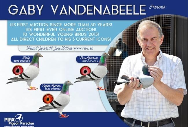 Gaby Vandenabeele licitatie